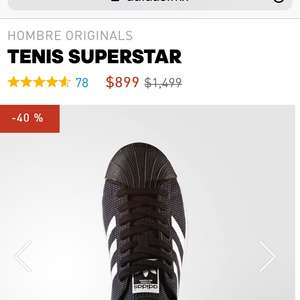 Adidas: TENIS SUPERSTAR