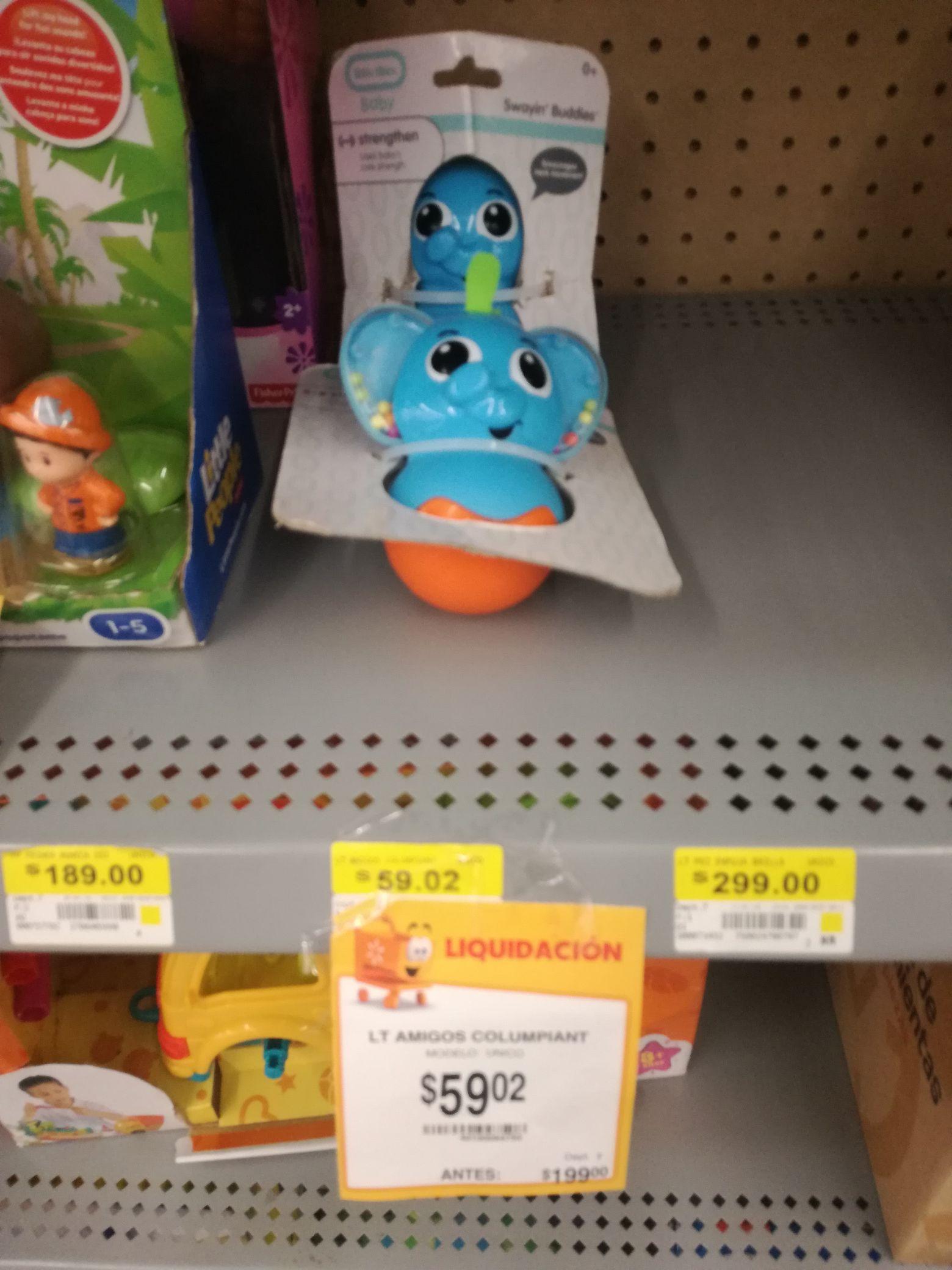 Walmart juguete de bebe de $199 a $59.02 y mas