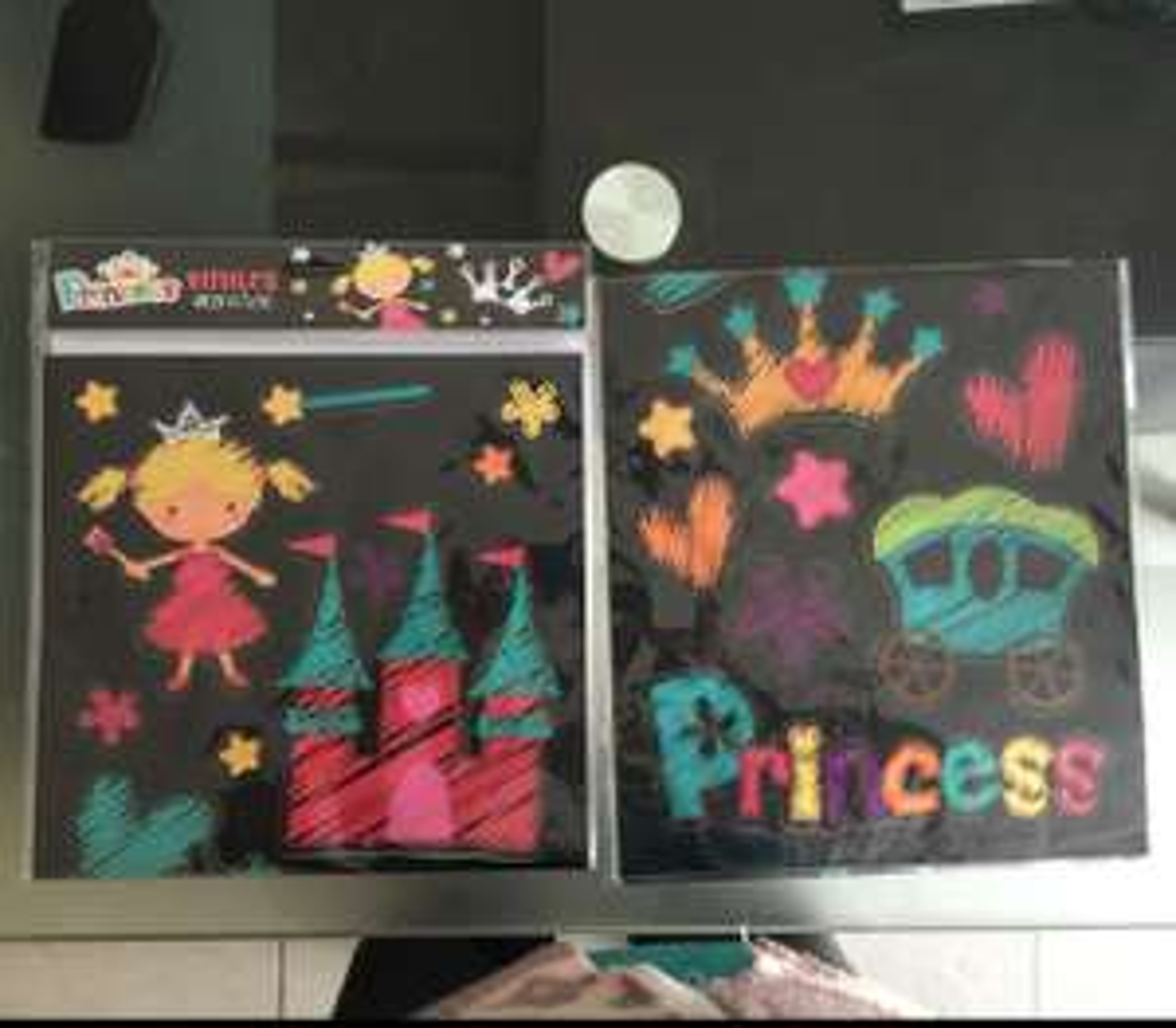 Bodega Aurrerá: Viniles de princesas para pared a $8.02