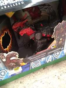 mega comercial mexicana: transformers dragon y vehiculo RC de 2mil a  599