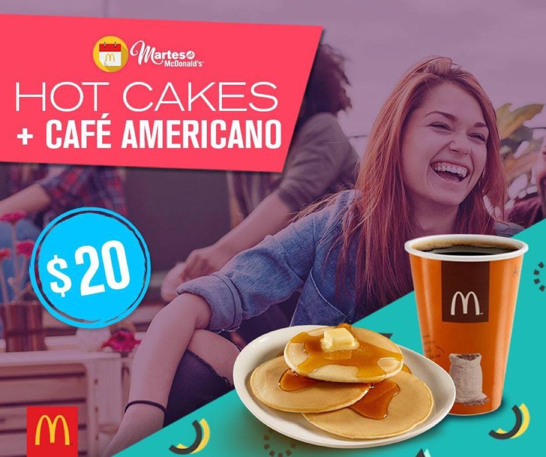 Martes de McDonald's: Hot cakes + café americano