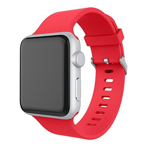 Amazon EU: Correas Apple Watch de Silicon 38/42 mm.