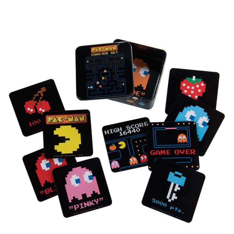 Amazon: Portavasos geek Pacman 10 piezas