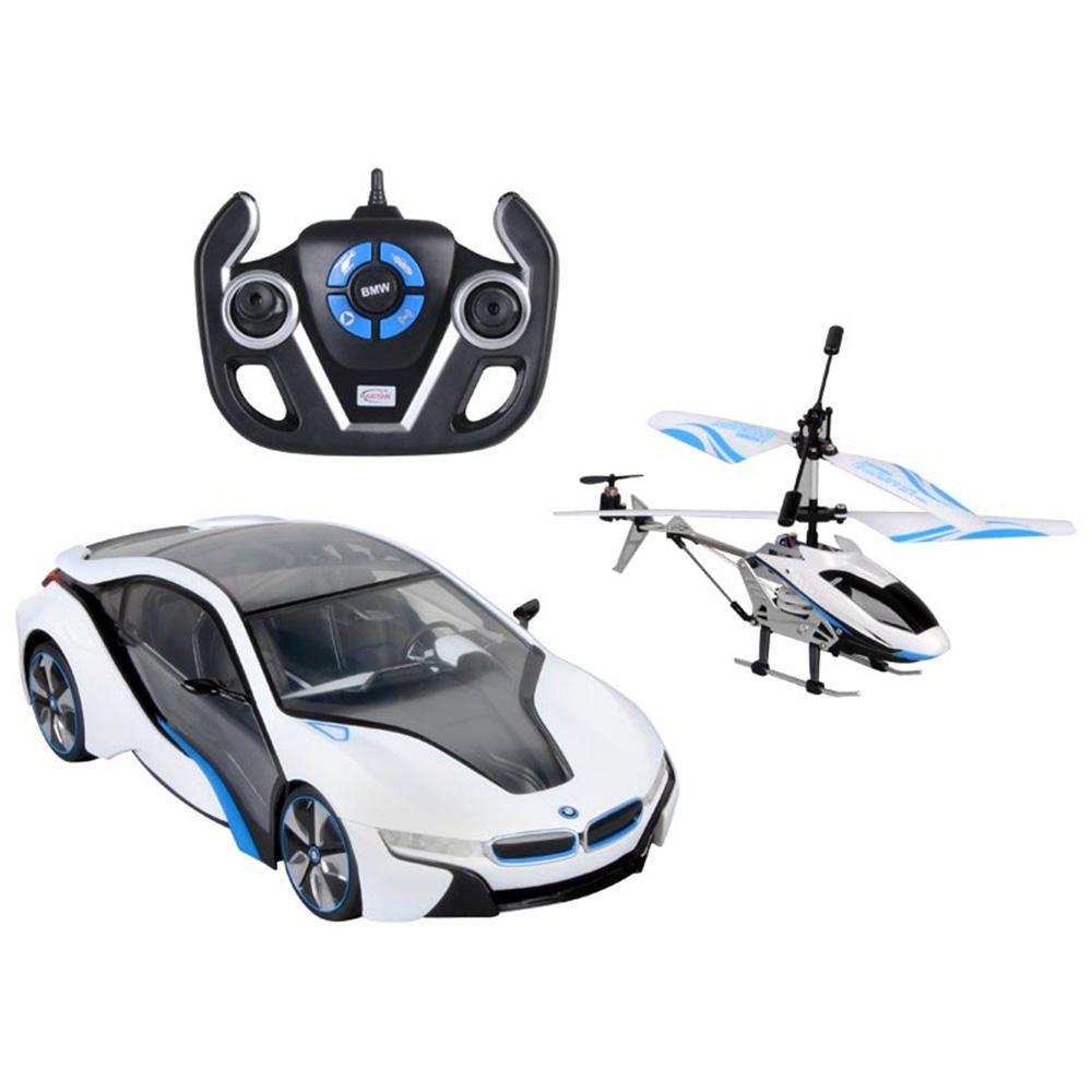 Elektra: Auto BMW y Helicoptero RC