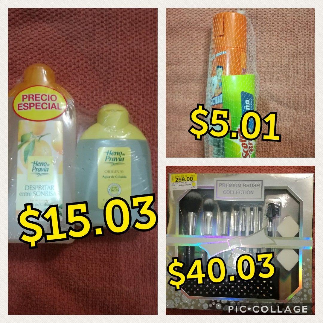 Walmart set de brochas Premium de 11 pz. De $40.03 ultima liquidación, mr musculo $5.01,heno de pravia pack 500mil. $15.03 y mas