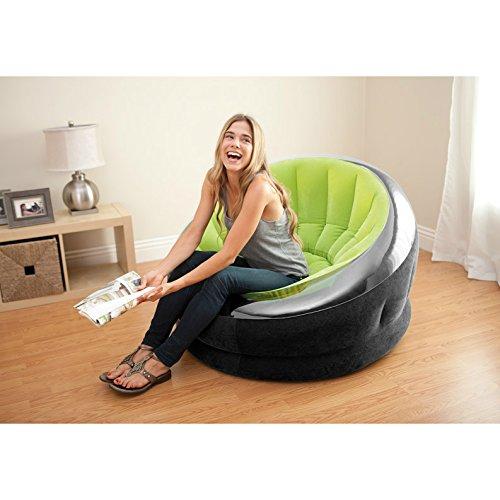 Amazon: Intex Empire silla inflable, (los colores pueden variar), 1 paquete