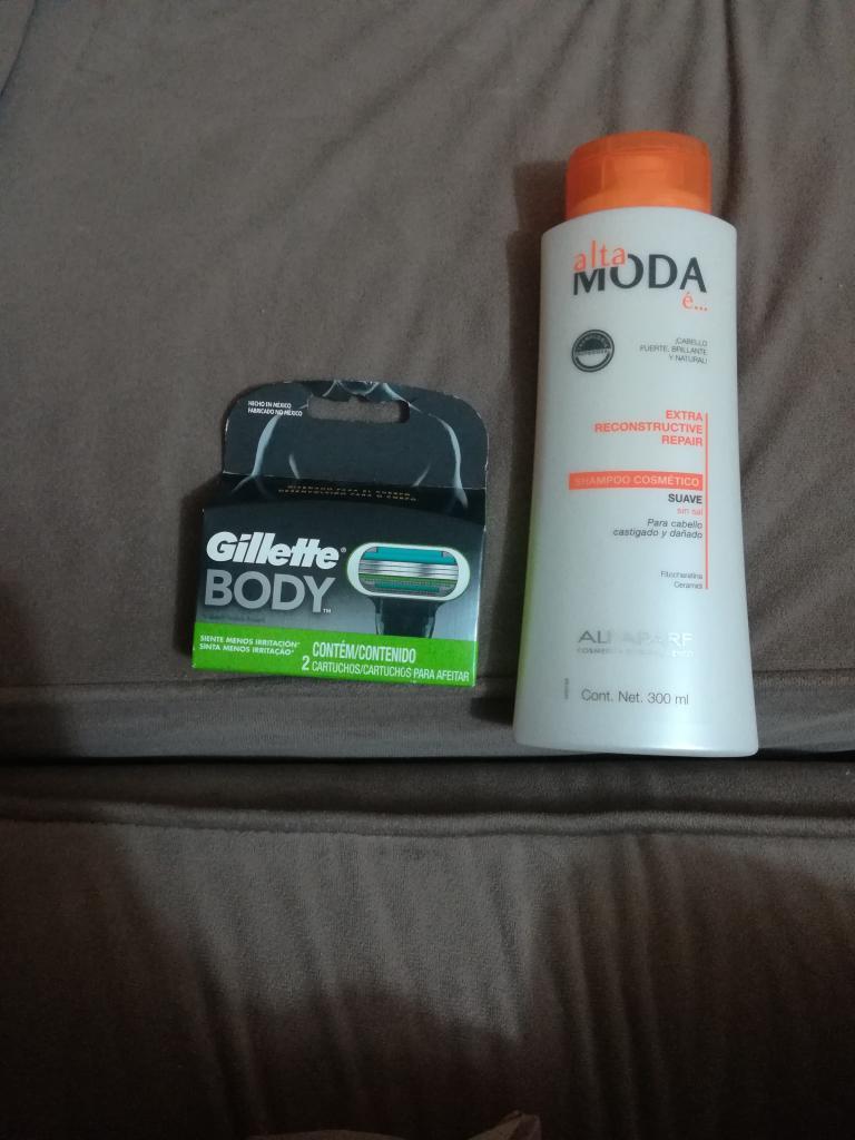 Soriana mercado Veracruz: cartucho Gillette Body más empleada amigable.