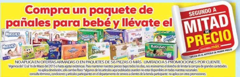 """H-E-B """"Super fin de semana"""": Segundo paquete de pañales a MITAD DE PRECIO y otras promociones"""