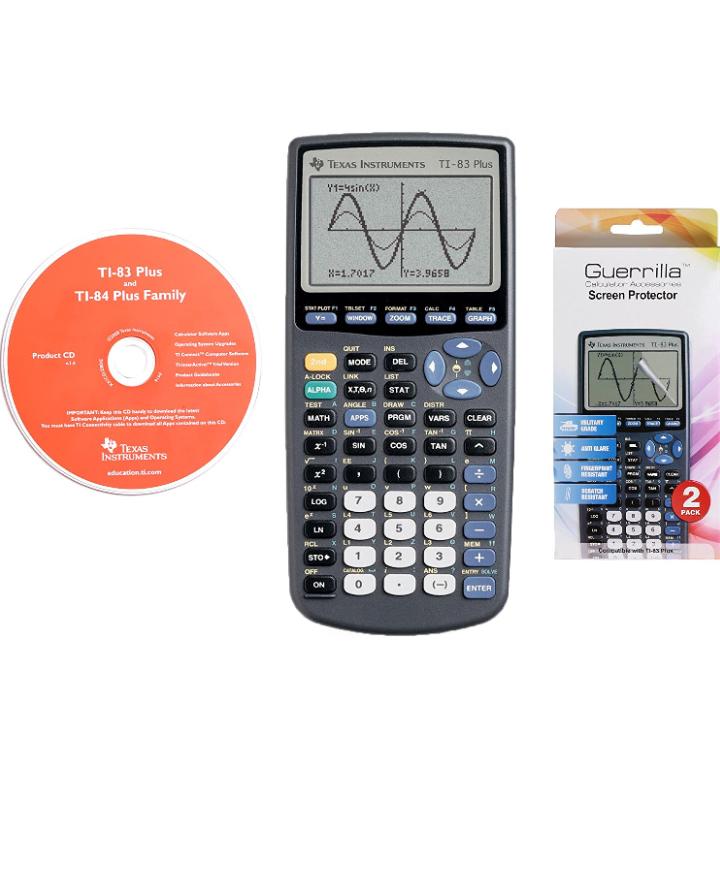 Amazon México:Texas Instruments TI-83 Plus - Calculadora gráfica aplica prime.