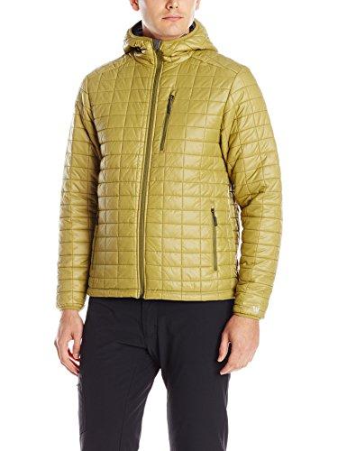 Amazon MX: White Sierra Men's Zephyr Hooded Jacket, Green Moss, Large