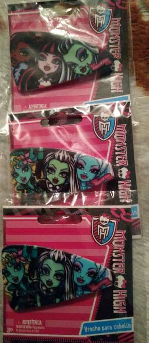 Chedrahui: Broche para cabello Monster High