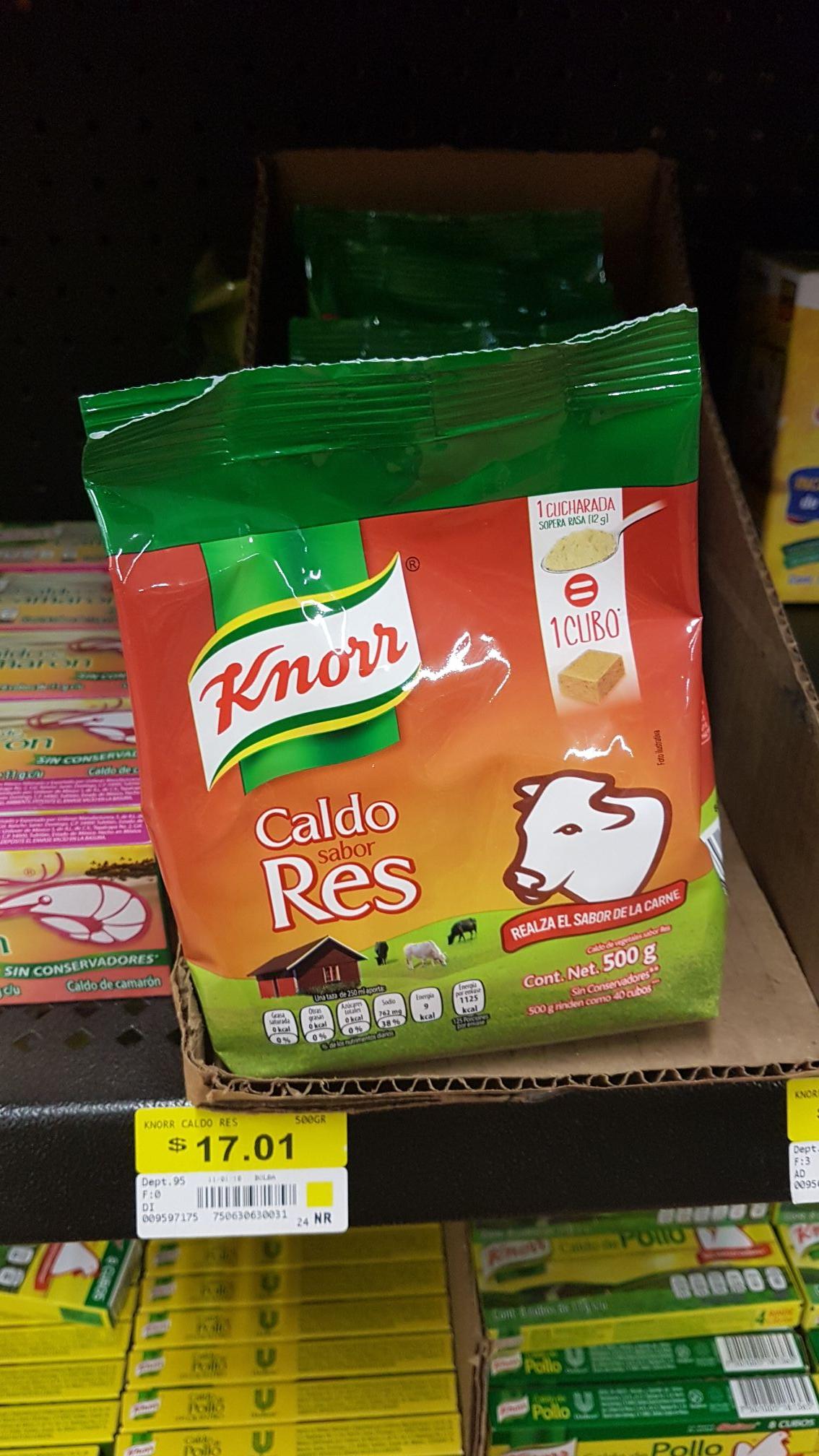 Walmart: Caldo De Res Knrrs 500gms