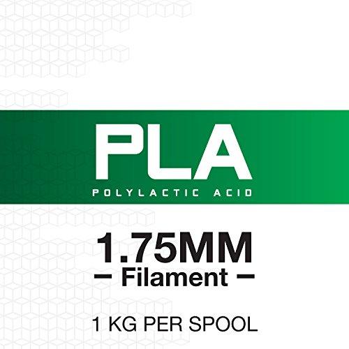 Amazon: HATCHBOX Filamento PLA 1.75mm 1kg Blanco PRIME