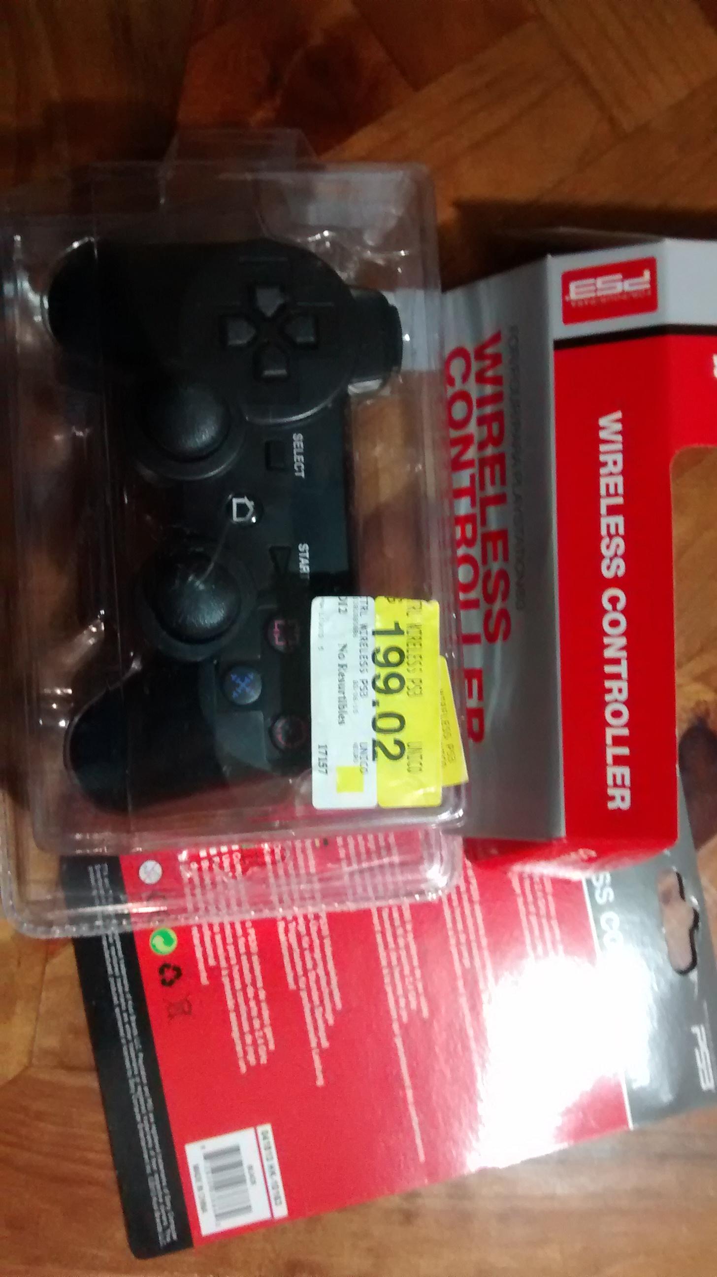 Walmart: Control Genérico Inalámbrico para Ps3 a 199.02