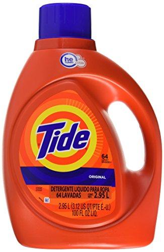 Amazon: Tide Detergente Líquido de 2.95L en $227