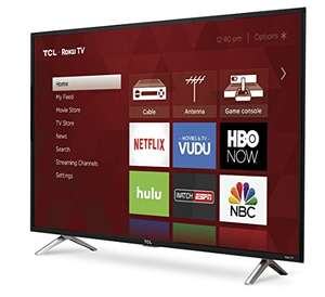 "Amazon: TV TCL 49"" Roku Smart TV Full HD Modelo 49S305-MX"