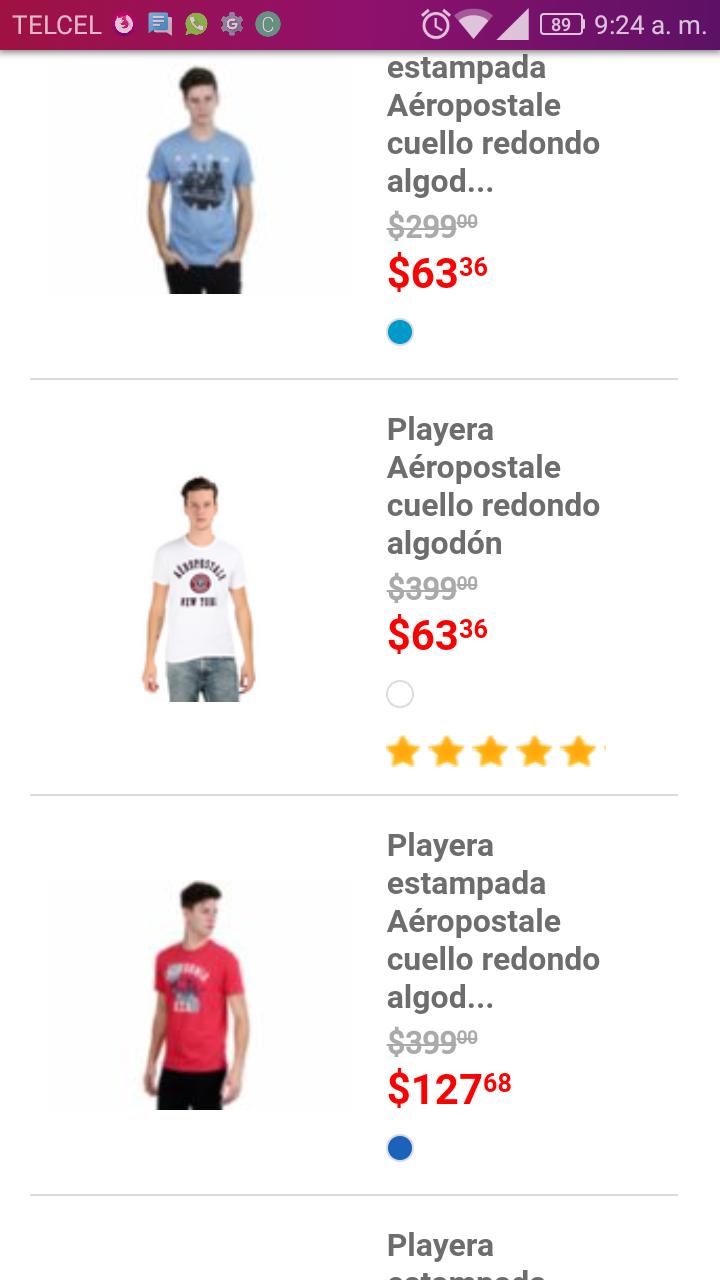 Liverpool: playeras Aeropostale desde 63 pesos