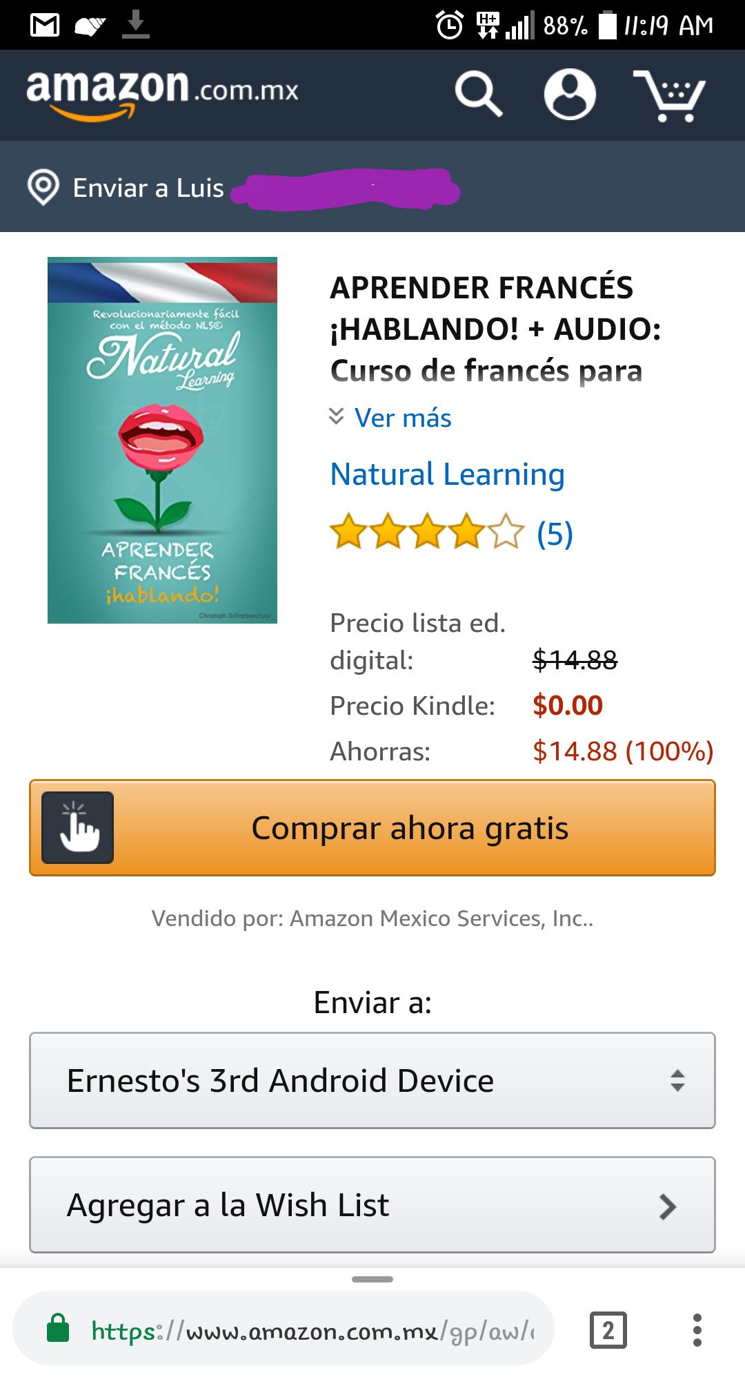 Amazon: Curso de francés básico GRATIS