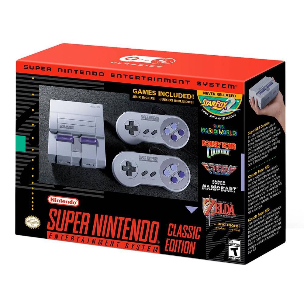 Walmart: De nuevo disponible Super nes classic
