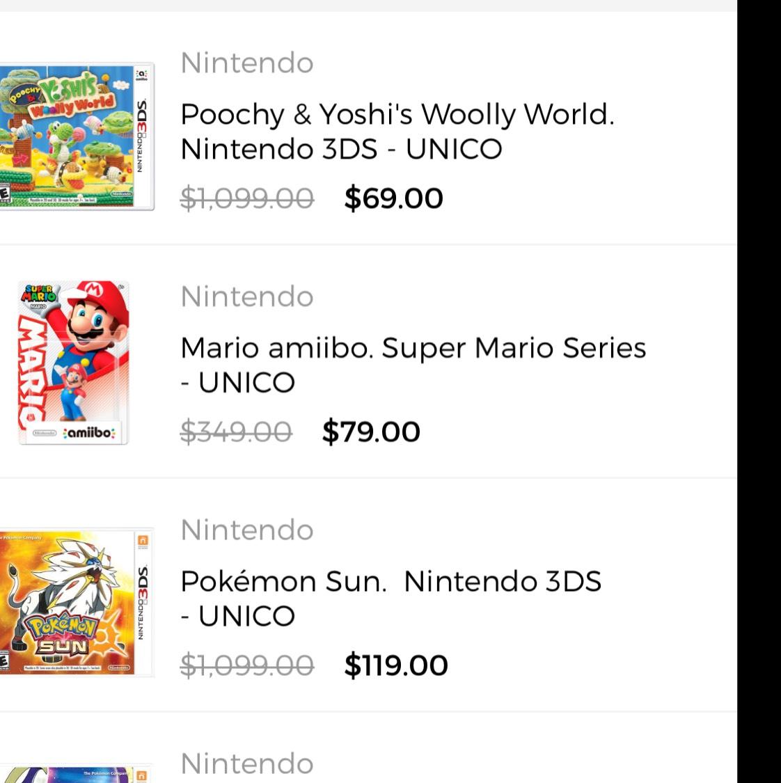 Privalia: Precios de locura en productos Nintendo (SOLO USUARIOS CON PREMIUM)