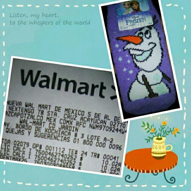 Walmart:Calcetines  para niña 10.02