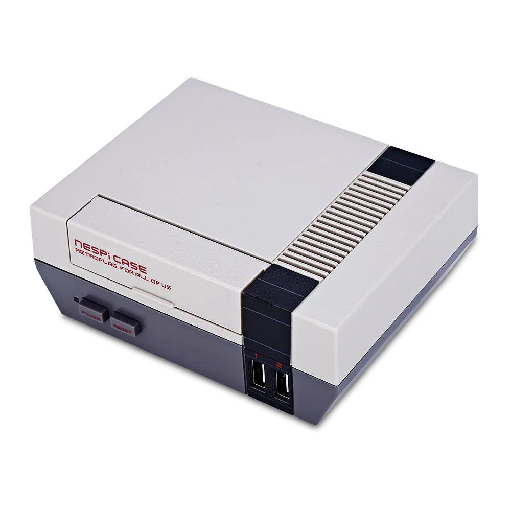 Gamiss: case para Raspeberry Pi forma de Nintendo con tornillos y desatornillador