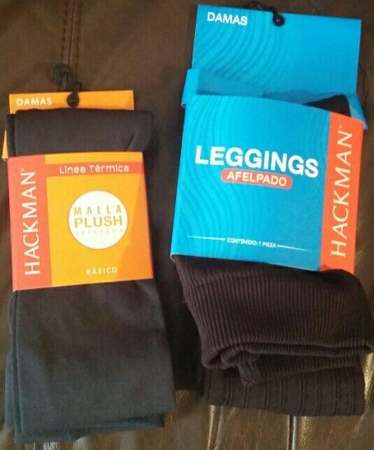 Bodega Aurrerá Tlalnepantla: leggings y mallas afelpados de $149 a $90.03, ropa térmica de dama y niño en $50.03, paquete de agüitas de naranja $19.50