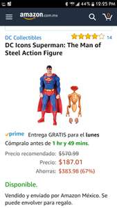 Amazon: DC Icons Superman: The Man of Steel Action Figure