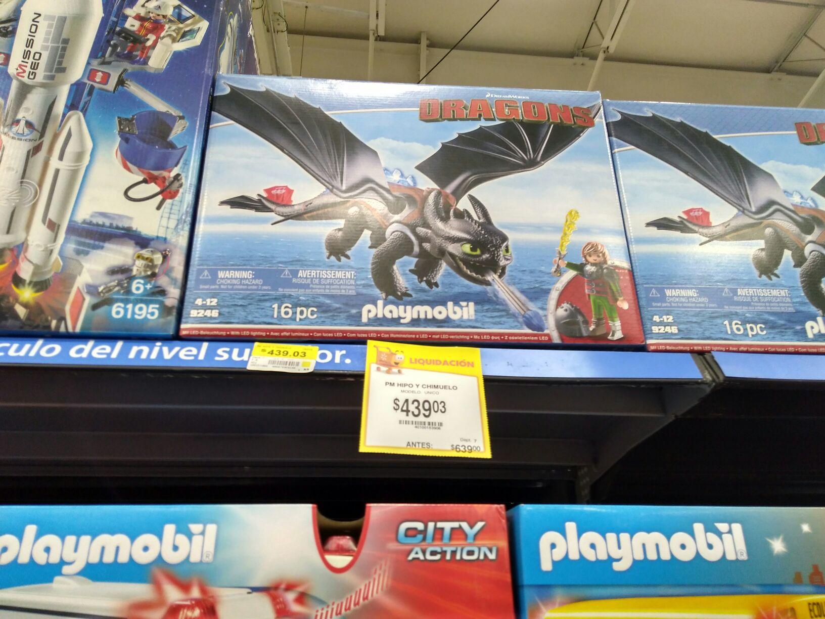 Walmart: Chimuelo Playmobil y más