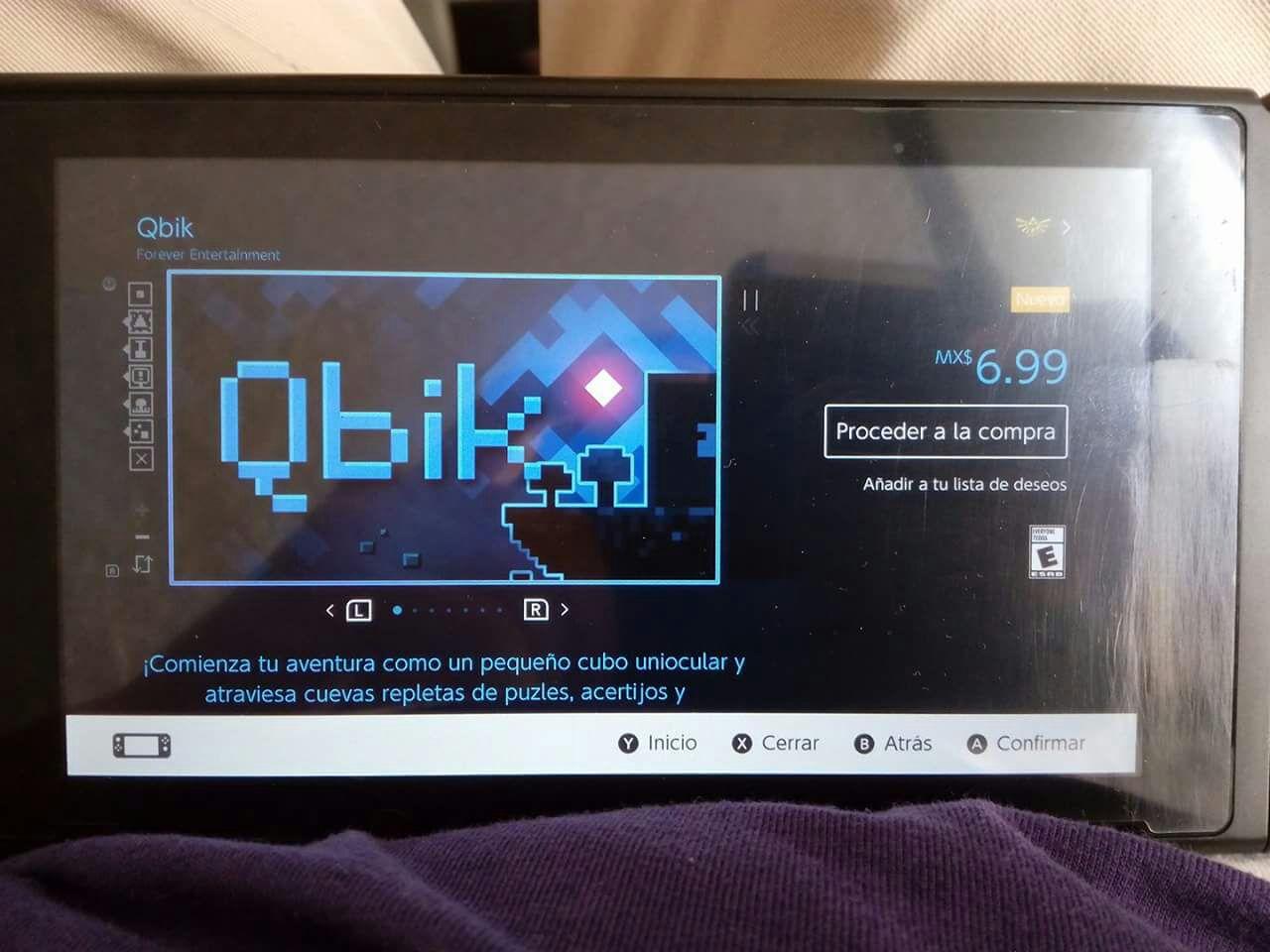Nintendo eShop: Qbik