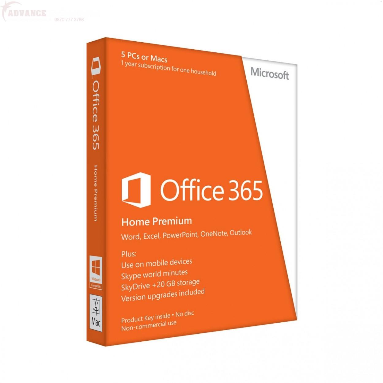 Linio: Office 365 Hogar Premium 5 usuarios $699