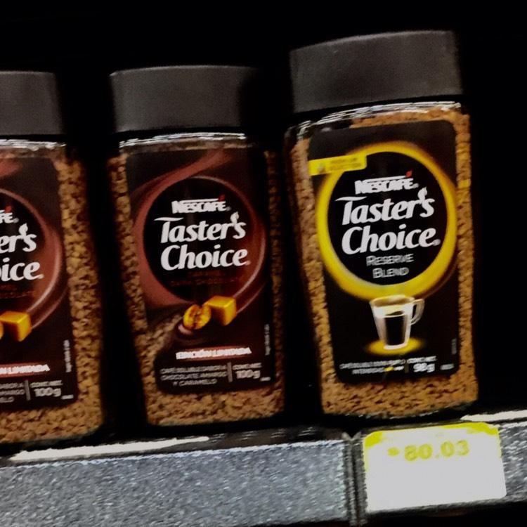 Walmart Chilpancingo: Nescafé taster's choice