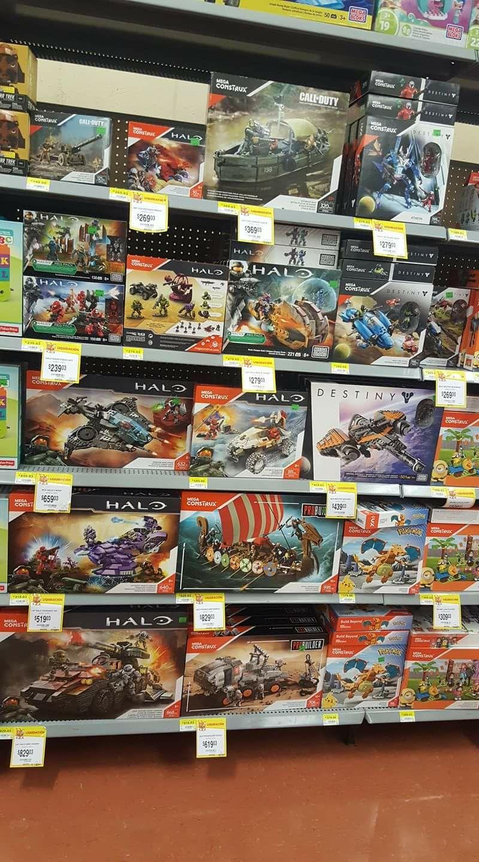 Walmart: Primer Liquidación Mega construx WALMART (ej. Halo $659)