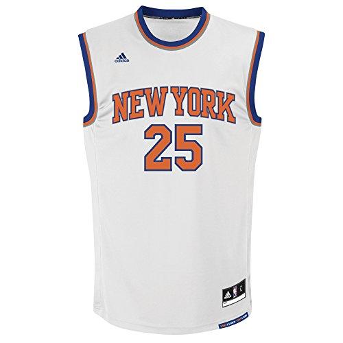 Amazon: Jersey Adidas Baskerball NY Talla L (Aplica Prime)
