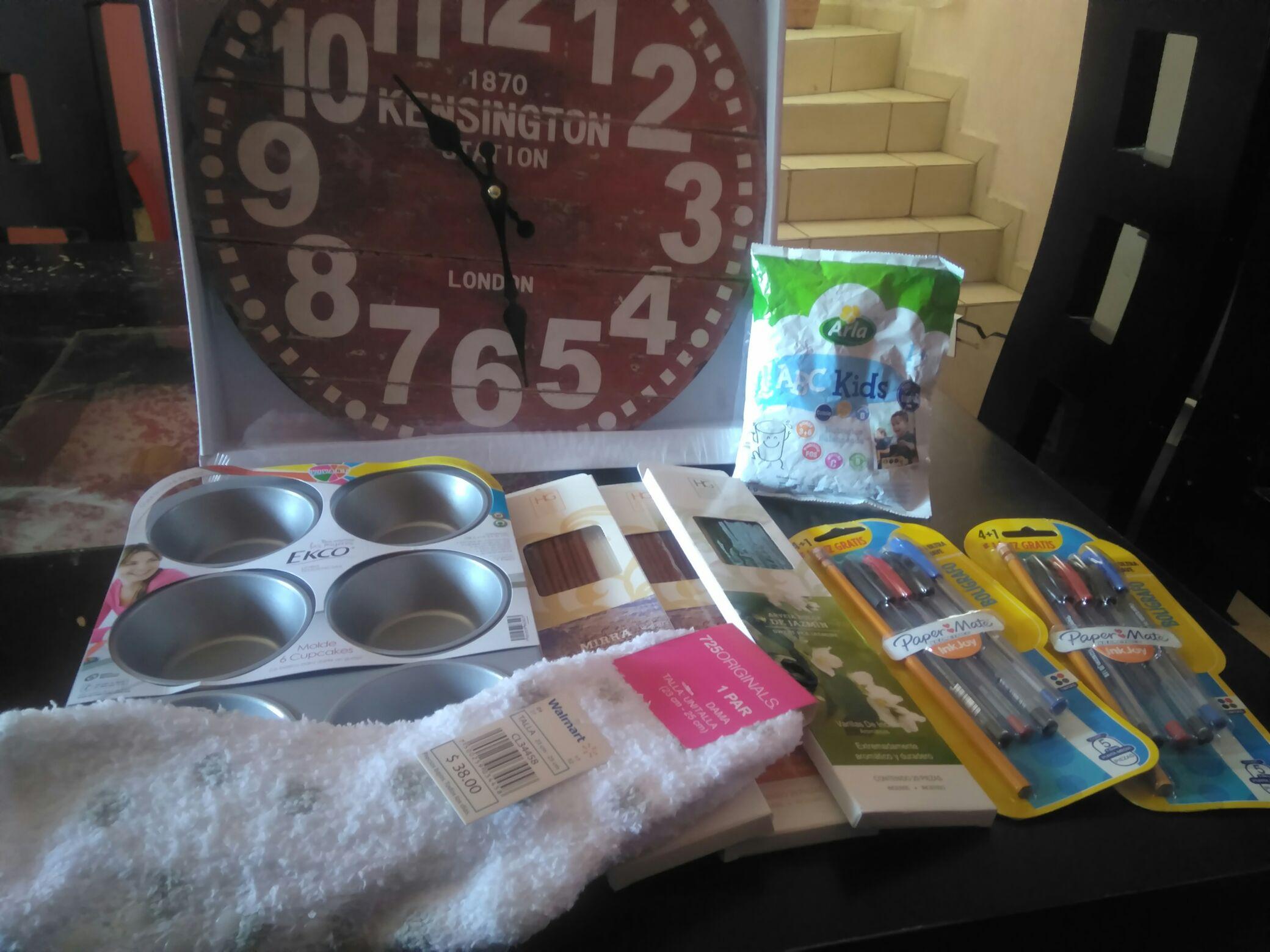 Walmart Centro Sur GDL: Reloj rojo $16.01 Incienso HG Mirra $3.01 Incienso HG Jazmín $3.01 y más