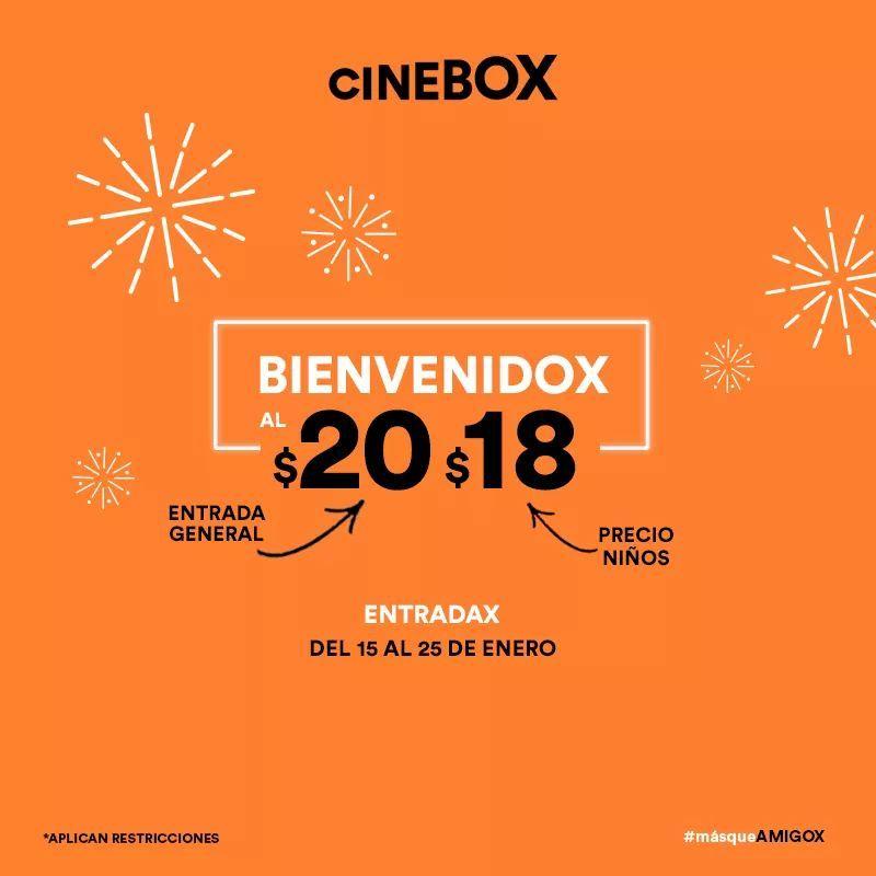 Cinebox: Entrada General $20.00