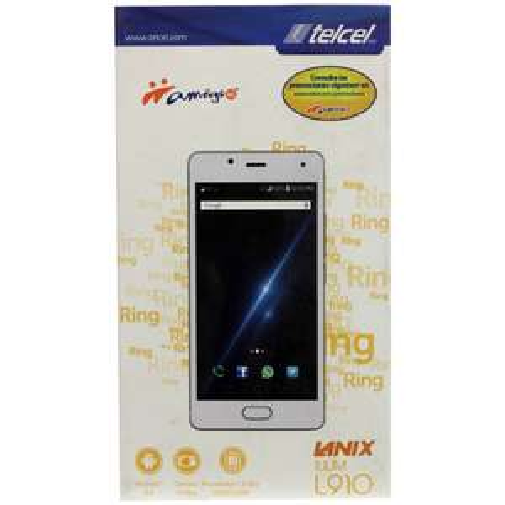 Walmart: Smartphone Lanix Ilium L910 16GB Blanco Telcel