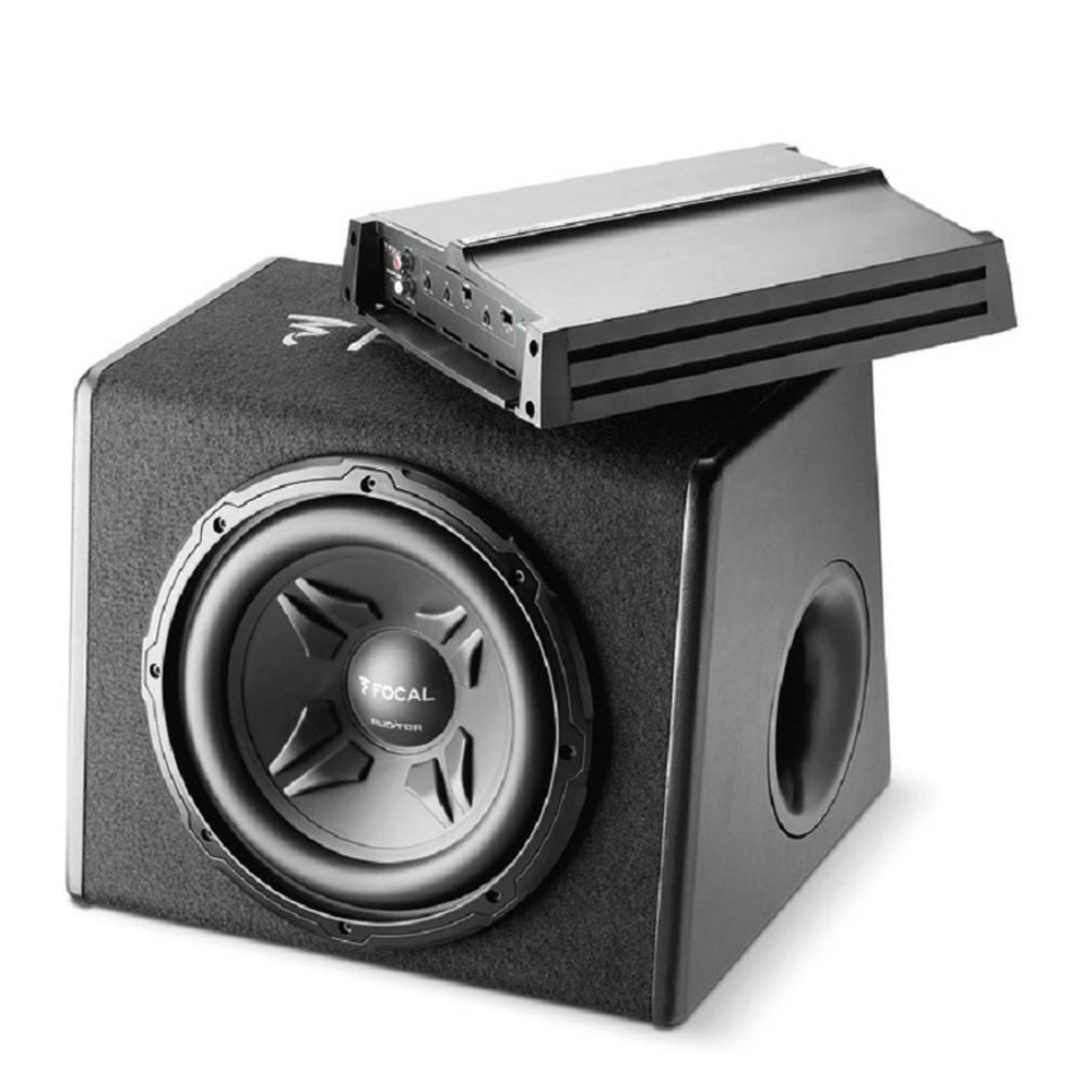 Walmart: Subwoofer Encajonado Bass Pack Focal más Amplificador de 2 Canales
