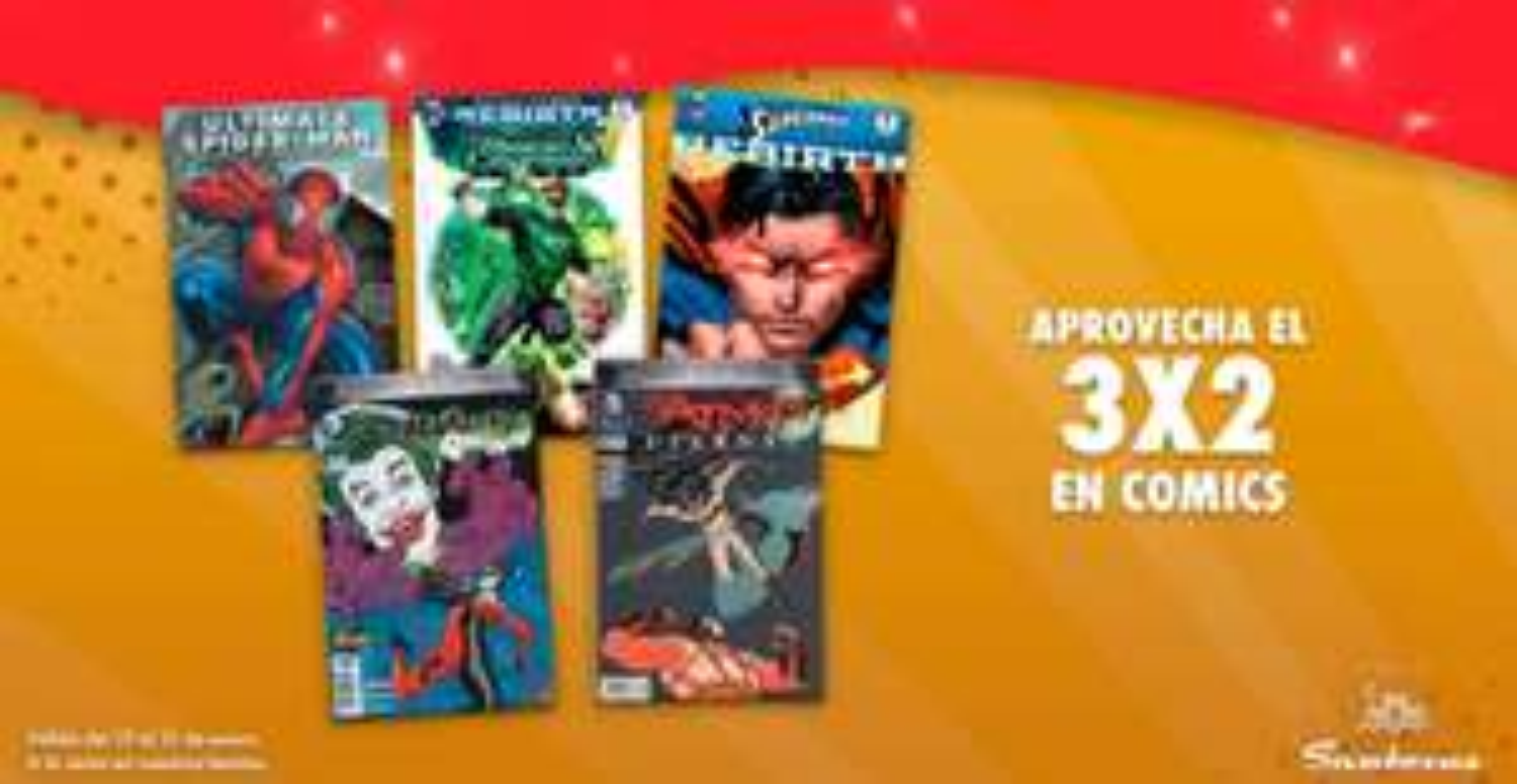 Sanborns: Comics al 3x2