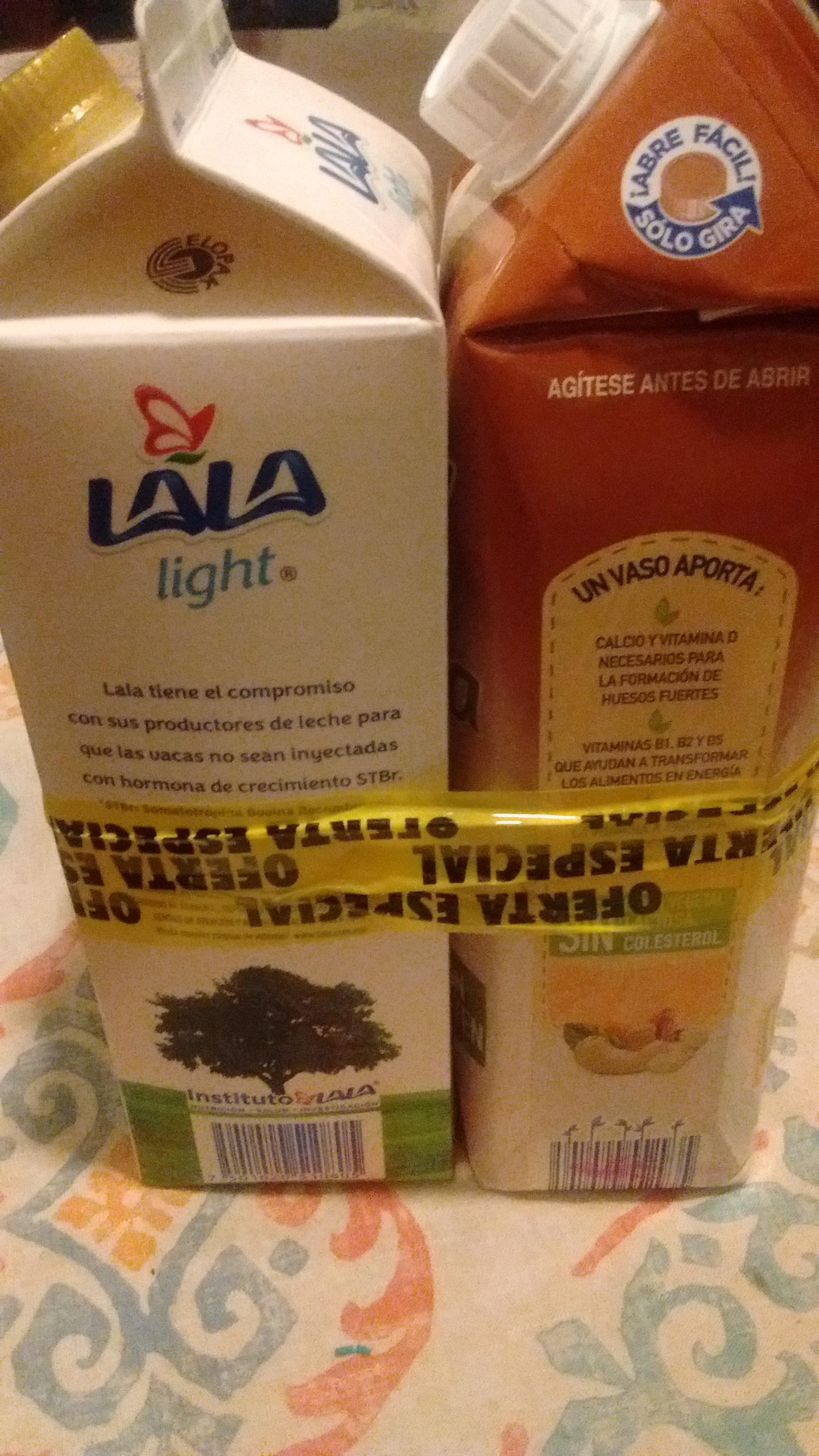 Walmart: GRATIS leche de almendra 1lt en la compra de 1lt leche la la light