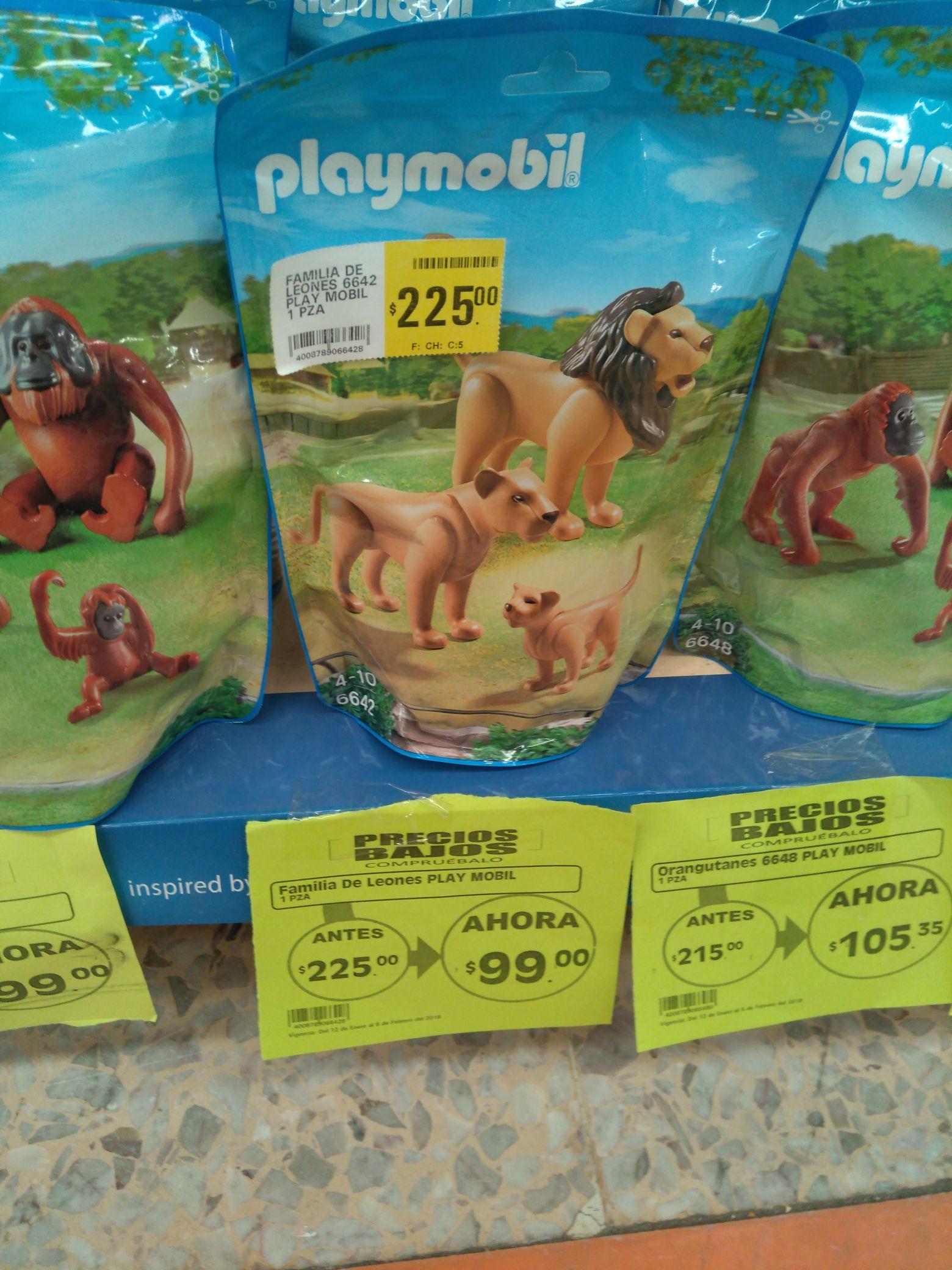 Comercial Mexicana: Familia Playmobil de $225 a $99