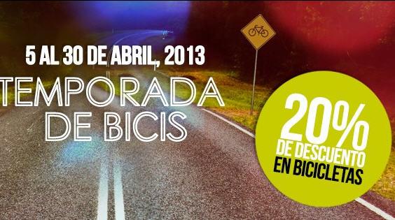 Martí: 20% de descuento en bicicletas