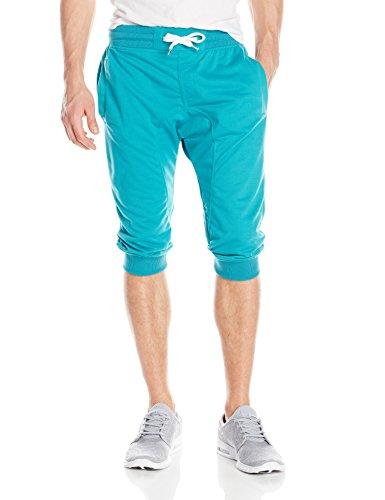 Amazon MX: Southpol Jogger capri, color turquesa,talla G + envio gratis con prime.