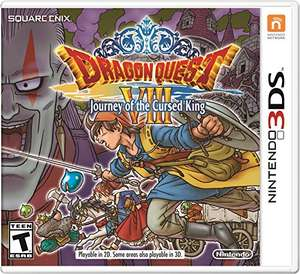 Amazon: Dragon Quest VIII Journey Of The Cursed King - Nintendo 3DS