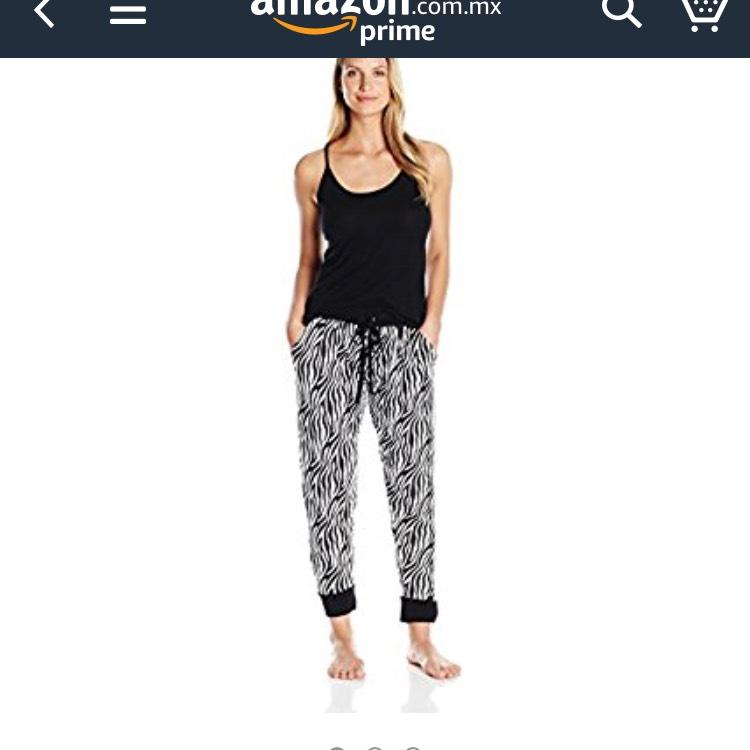 Amazon: Pijama para dama para el frío talla grande