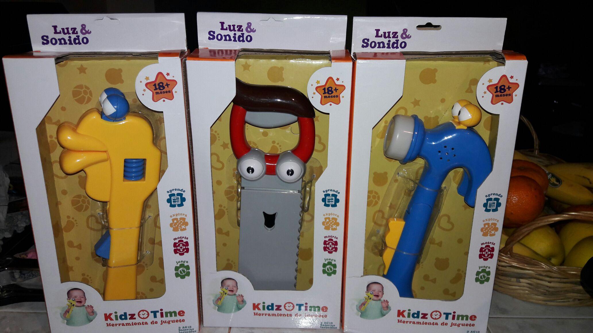 Walmart: Juguetes para bebes marca kidz time a $59.02