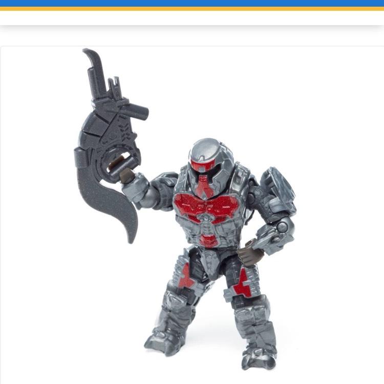 Walmart: Figura de Colección Mega Bloks Halo Ghost Rush