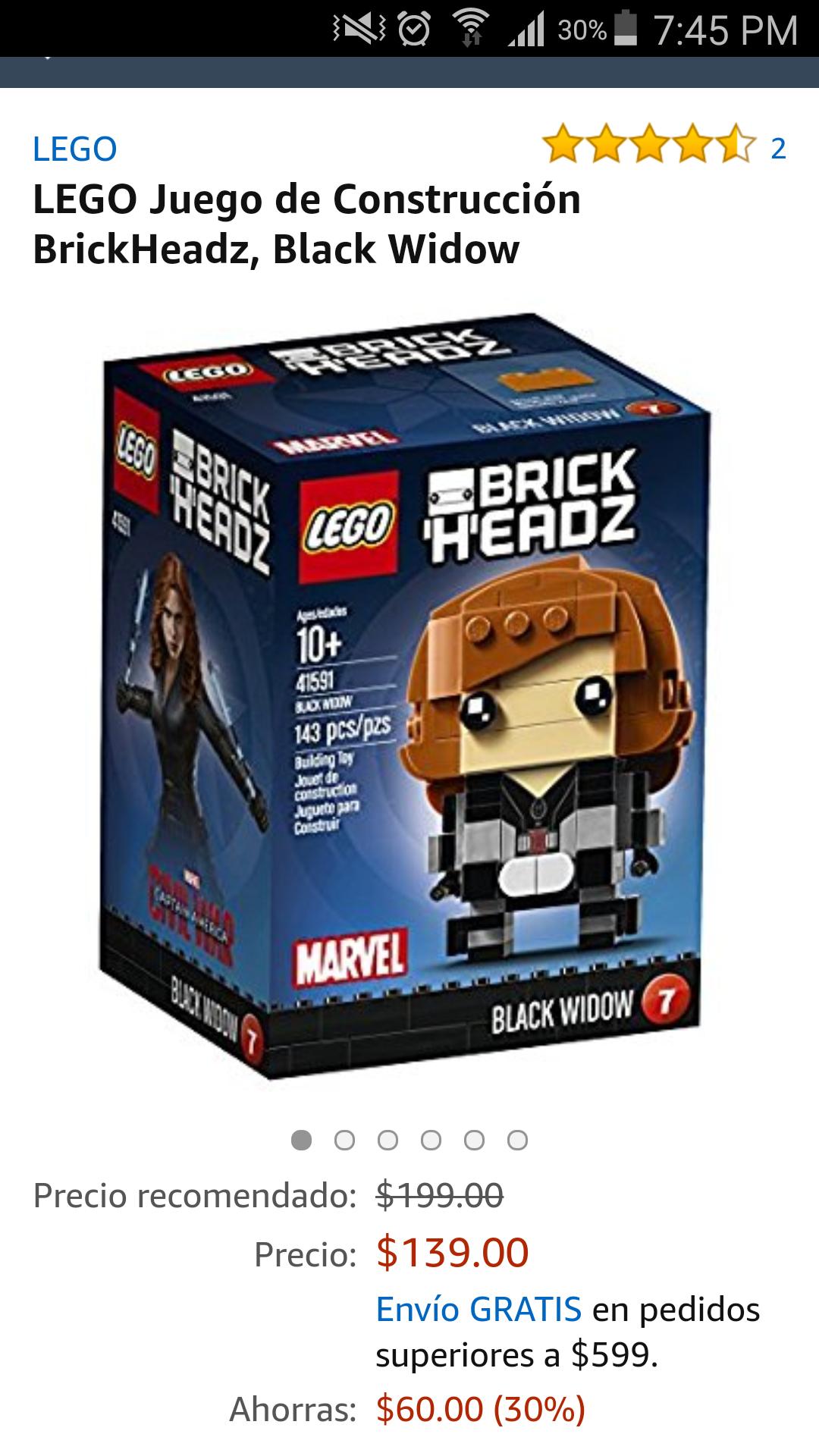Amazon: brickheads desde $139