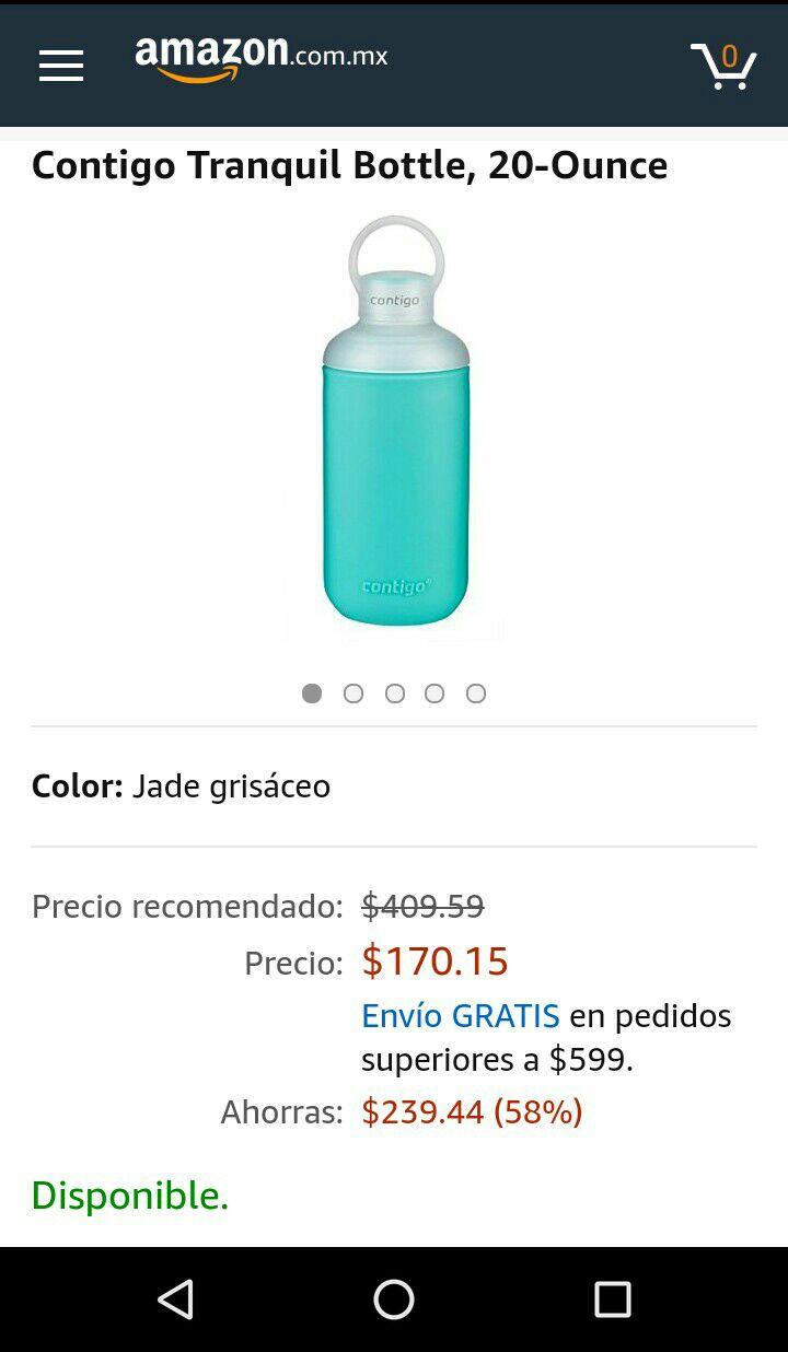 Amazon: Contigo tranquil bottle, 20 ounce