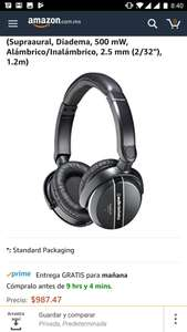 Amazon: AUDIO TECHNICA ATH-ANC27X NOISE-CANCELING ON-EAR HEADPHONES